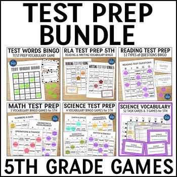 Test Prep Bundle Grade 5
