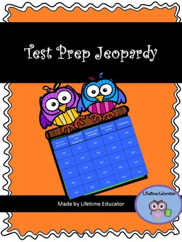 Test Prep Jeopardy Game for Middle School