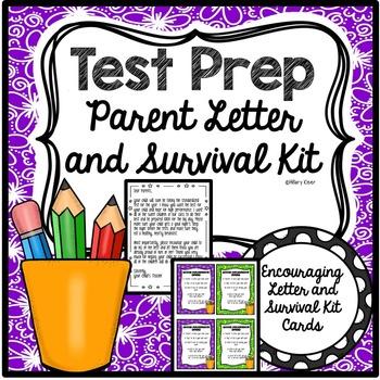 Test Prep Letter and Survival Kit
