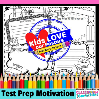 Test Prep Activity Poster
