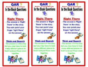 Test Prep- QAR Bookmark