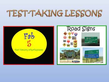 Test Prep Strategy Lessons:  Reading Response & Test-takin