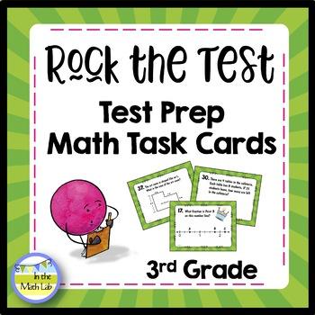 Test Prep Task Cards - 3rd Grade Math
