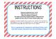 Test Prep Task Cards/Scavenger Hunt- GRADE 5