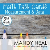 3rd Grade Math Task Cards for Measurement and Data
