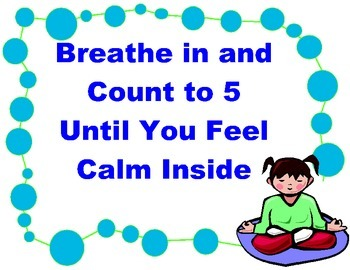 Test Taking Strategies Poster- BREATHE