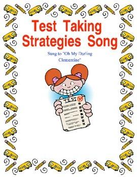 Test Taking Strategies Song