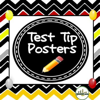 Testing Tips Standardized Testing Posters