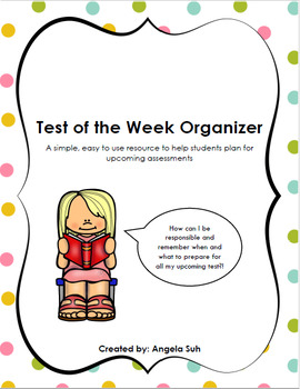 Test of the Week Organizer