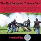 The Red Badge of Courage Test with Answers