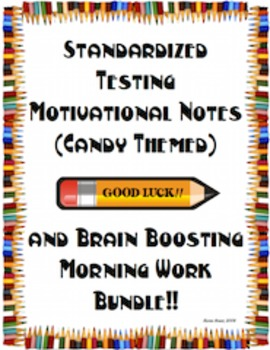 Testing BUNDLE - Motivational Notes (Candy) and Brain Boos