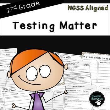 Testing Matter (Second Grade Lesson)