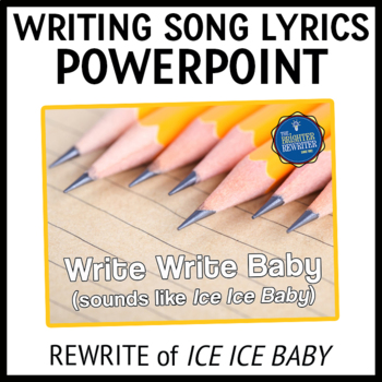 Testing Pep Rally Writing Song Lyrics PPT