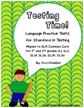 Testing Time! {ELA Test Prep- Stanford 10}