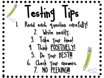 Testing Tips