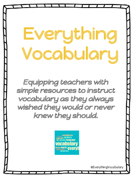 Testing Vocabulary Words