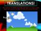 Tetris Math Transformations (Reflections, Rotations, Trans