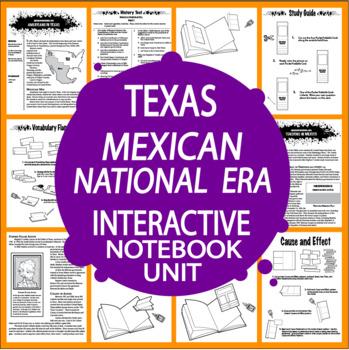 Mexican National Era~7th Grade Texas History