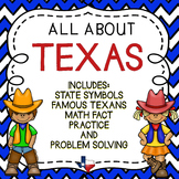 Texas - Social Studies, Reading, and Math Activities