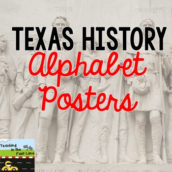 Texas Alphabet Poster Set
