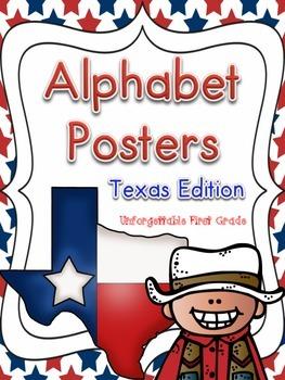 Texas Alphabet Posters