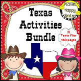 Texas Bundle ~ 16 Resources all about Texas