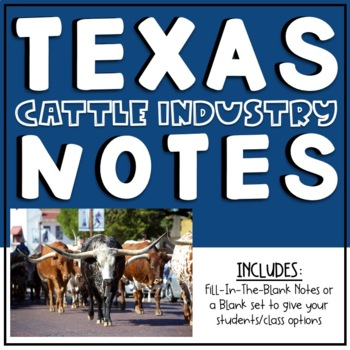 Texas Cattle Industry