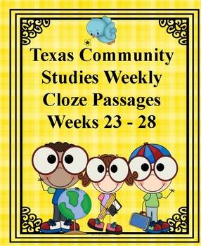 Texas Community Studies Weekly Weeks 23-28
