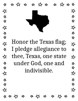 Texas Flag Pledge