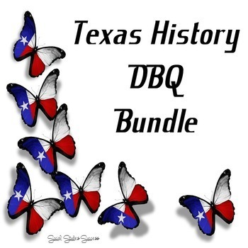 Texas History DBQ Bundle