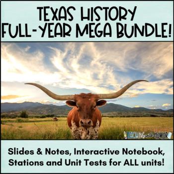 Texas History MEGA-BUNDLE!!