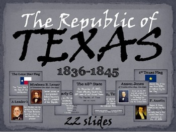 Texas: History of the Republic