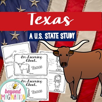 Texas | State Study | 56 Pages for Differentiated Learning