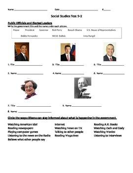 Texas Leaders Formative