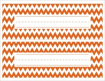 Texas Longhorns Inspired Editable Orange and White Name De