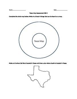 Texas Map Assessment