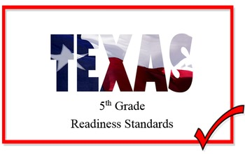Texas Math Readiness Standards for Fifth Grade