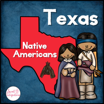 NATIVE AMERICANS OF TEXAS-  Reading Passages and Editable