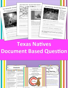 Texas Natives DBQ