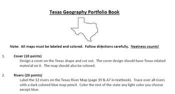Texas Portfolio Book Project