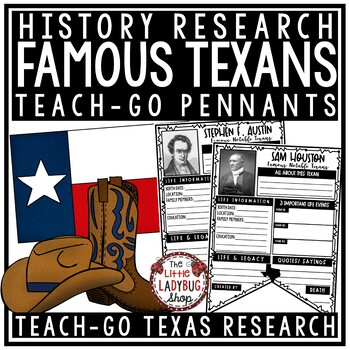 Texas Research Activity & Famous Texans