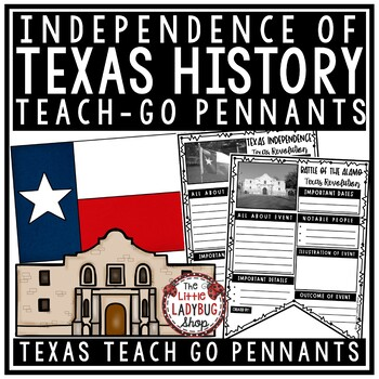 Texas Revolution Activity & Texas Independence