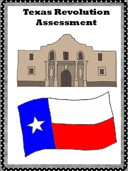 Texas Revolution Assessment