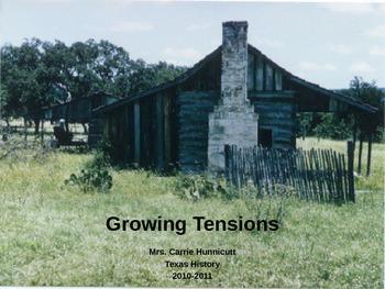 Texas Revolution - Growing Tensions