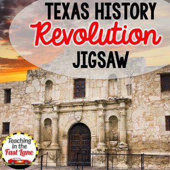 Texas Revolution Jigsaw Activity