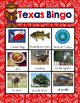 Texas State Symbols Bingo-- A Game for Your K-2 Class