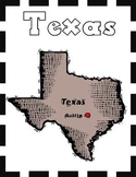 Texas State Symbols and Research Packet