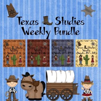 Texas Studies Weekly Bundle