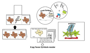 Texas Symbols Activities Pack (23pgs) English only Cscope