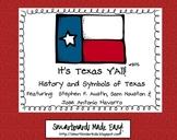 Texas Symbols & Jose Antonio Navarro, Houston, Austin - SM